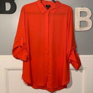 Mossimo XL orange blouse